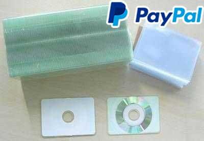 100 Cd R Bedruckbar 43 Mb Visitenkarte Format Inkjet Printable Weiß